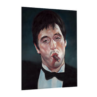 Scarface - Painting (Aluminum)