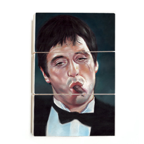 Scarface - Painting (Wood)