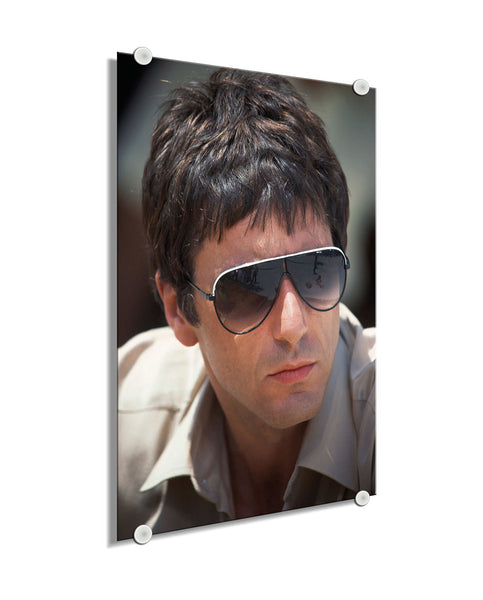 Scarface- Young Pacino ™ (Plexiglass)