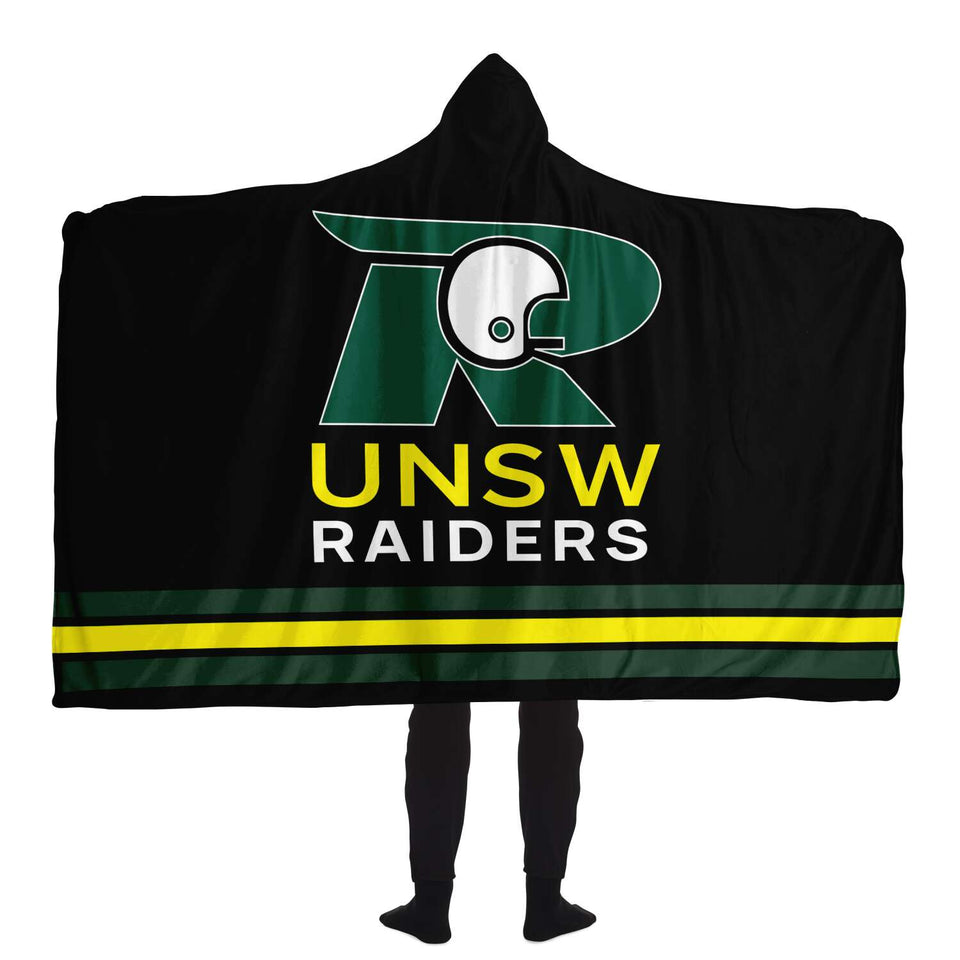 UNSW Raiders Hooded Blanket