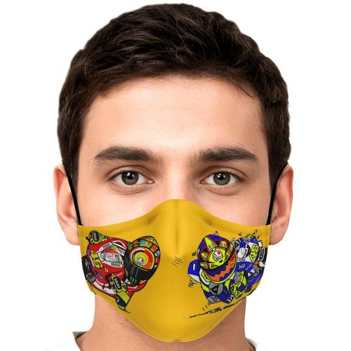 Rossi Inspired Facemask
