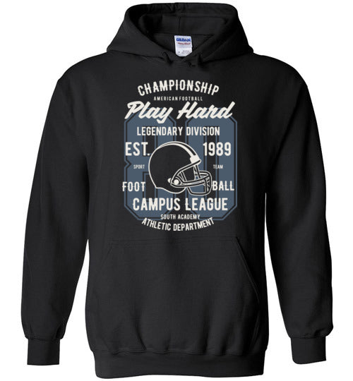 Play Hard Football Hoodie