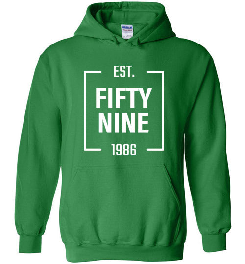 Fifty Nine Clothing Square Logo Hoodie