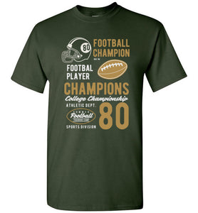 Football Champions Casual T Shirt