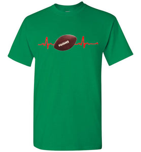 Football Heartline T Shirt