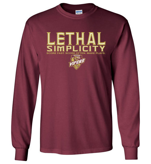 Lethal Simplicity Long Sleeve T Shirt