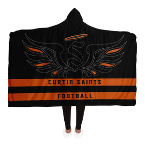 Curtin Saints 2020 Hooded Blanket