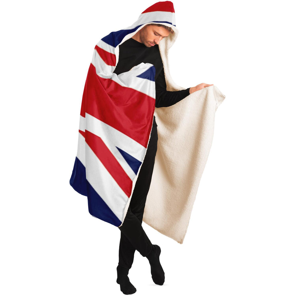 New Union Jack Hooded Blanket