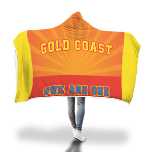 Gold Coast Suns Hooded Blanket