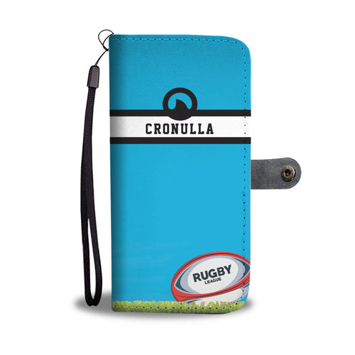 Cronulla Sharks Phone Wallet Case