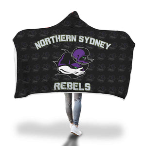 Rebels Hooded Blanket