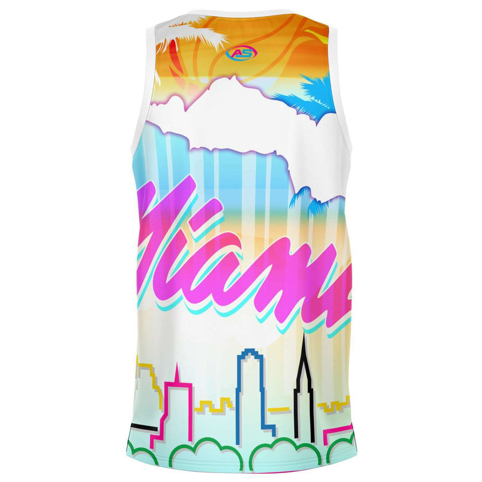 AS Brand Miami Style Basketball Jersey