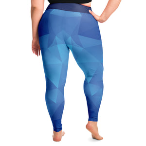 ASA Brand Plus Size Leggings No Stripes