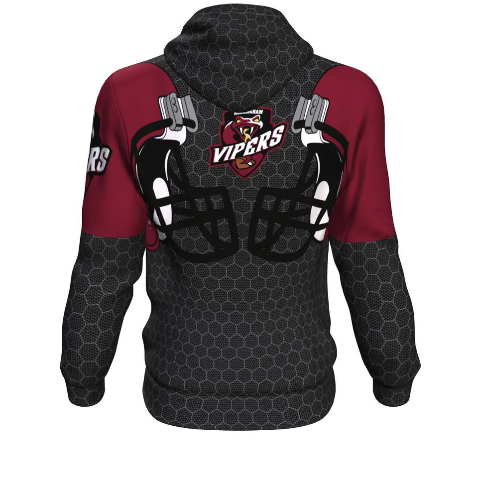 Vipers All Over Print Hoodie