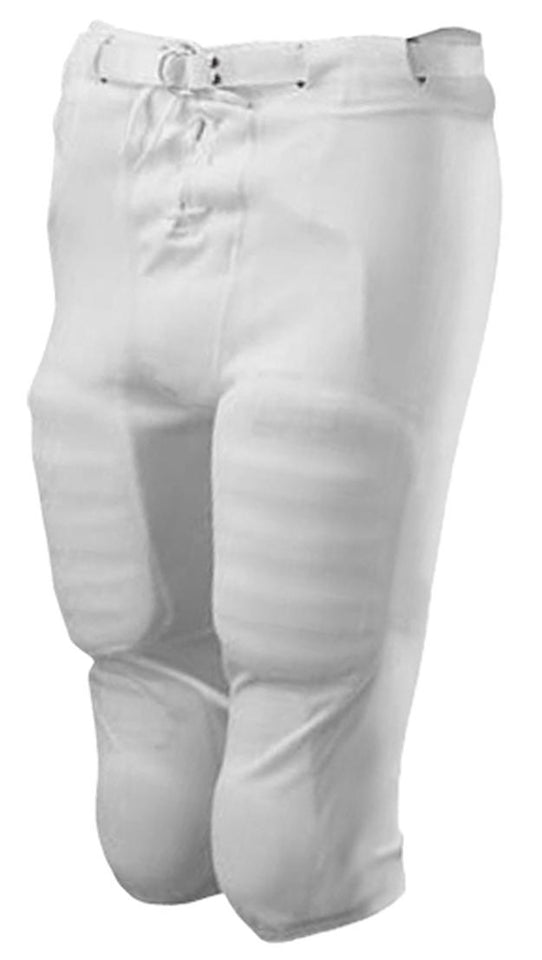 Alleson Slotted White Football Pants