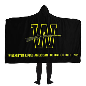 Winchester Rifles Hooded Blanket