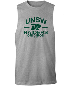UNSW Raiders GRIDIRON Logo Muscle Shirt