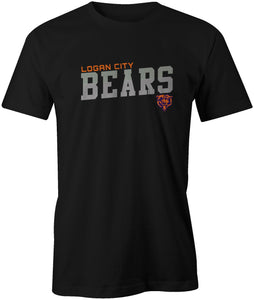 Logan City Bears Angled StripeT-Shirt
