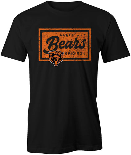 Logan City Bears Distressed Style T-Shirt