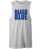 Perth Blitz Bleed Blue Muscle T