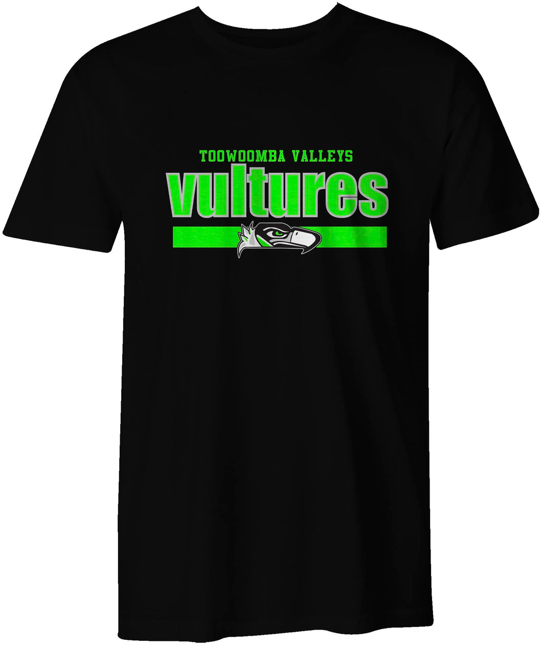 Toowoomba Valleys Vultures Box Style T-Shirt