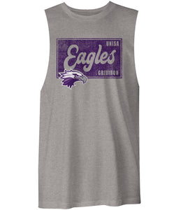 UniSA Eagles Distressed Box Muscle Shirt
