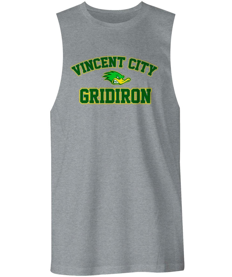 Vincent City Ducks Gridiron  Muscle Shirt