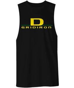 Vincent City Ducks D Gridiron  Muscle Shirt