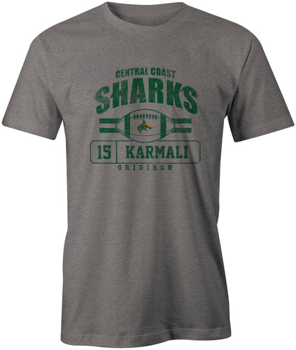 Central Coast Sharks Official Player Issue T-Shirt