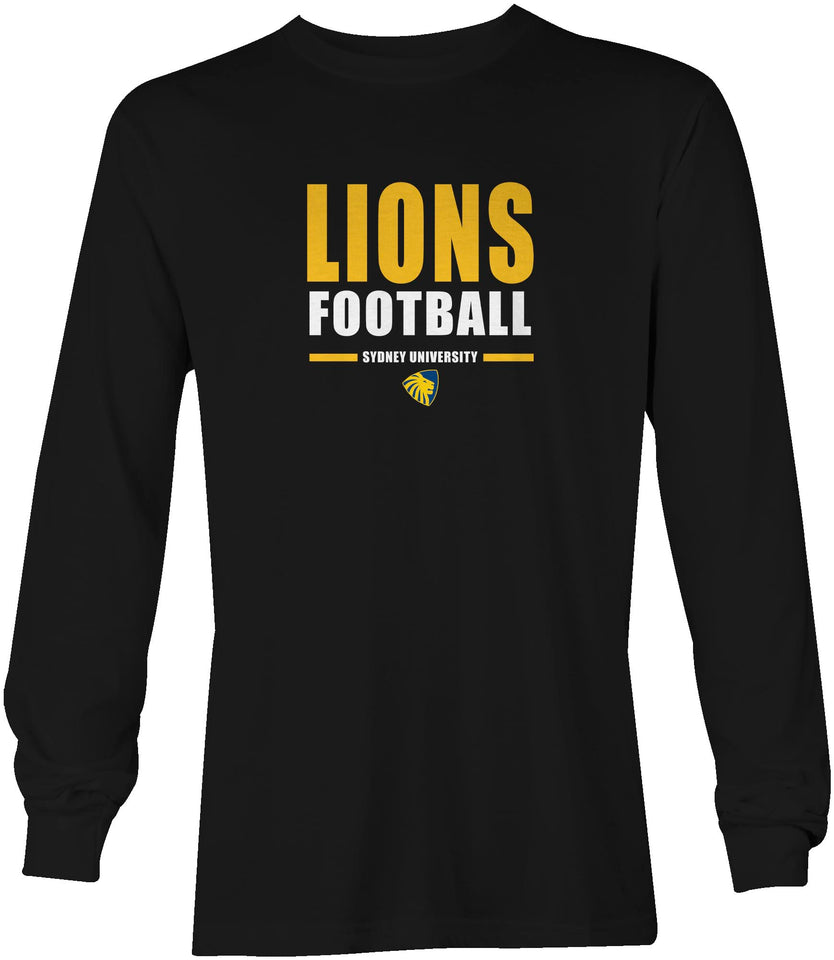 Sydney Uni Lions Football Long Sleeved T-Shirt