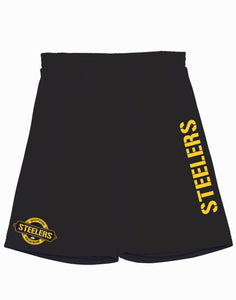 Westside Steelers Basketball Style Shorts