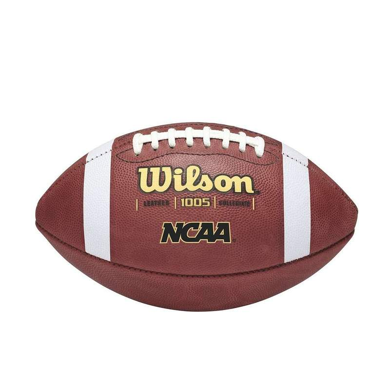 Wilson NCAA 1005 Traditional Leather Football
