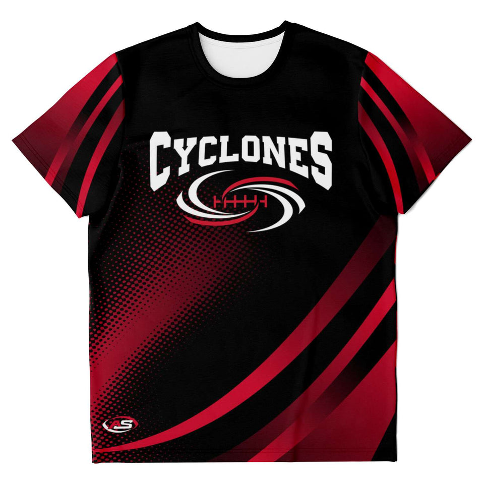 Cyclones AOP Polyester T-Shirt