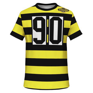 Westside Steelers Bumble Bee Van Kuele TShirt