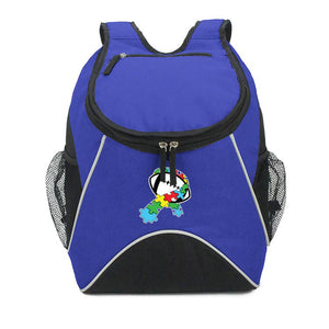 Autism Round Backpack