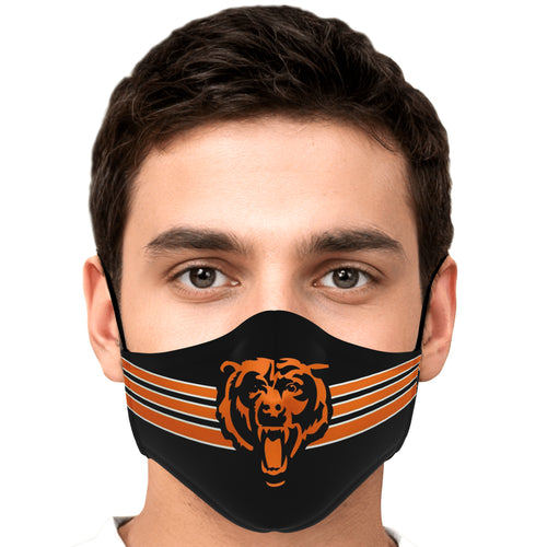 Logan City Bears Face Mask
