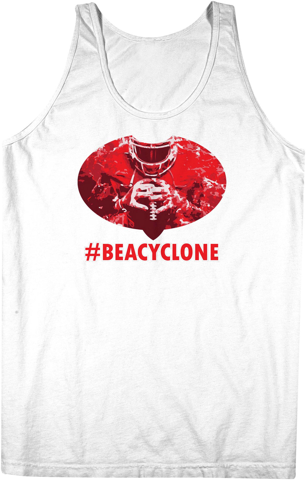 Be A Cyclone Team Singlet