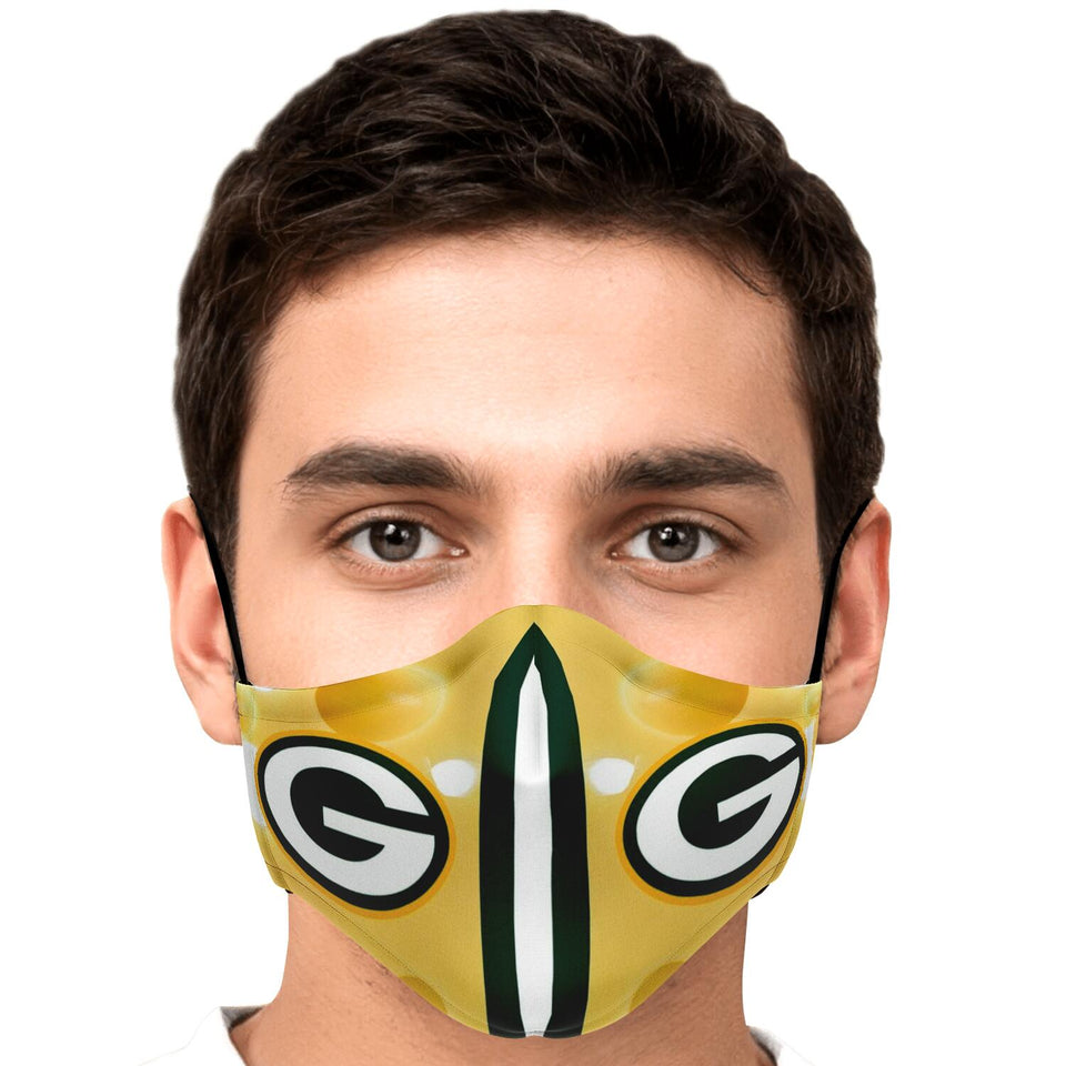 Green Bay Inspired Facemask