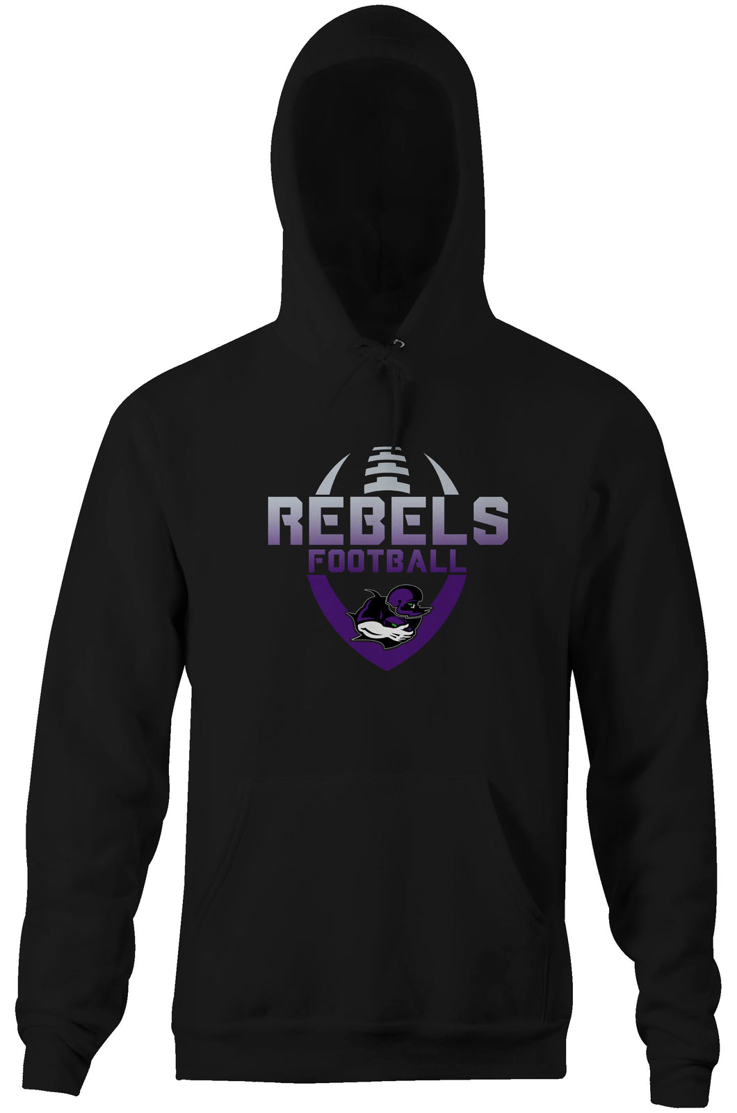 Rebels 2020 Colour Fade Hoodie