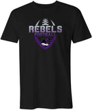 Rebels 2020 Colour Fade Logo T Shirt