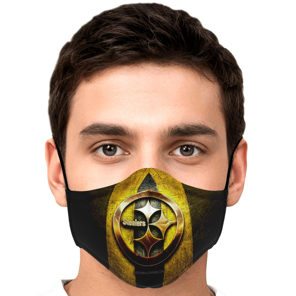 Pittsburgh Inspired Face Mask