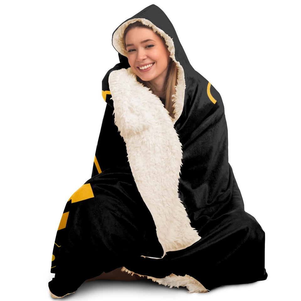 Westside Steelers Steel Curtain Hooded Blanket