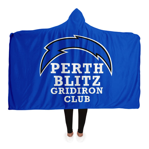 Perth Blitz Hooded Blanket