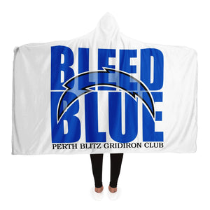 Perth Blitz Bleed Blue Hooded Blanket