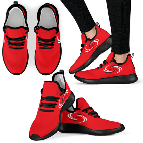 Cyclones Yeezy Style Sneakers Red