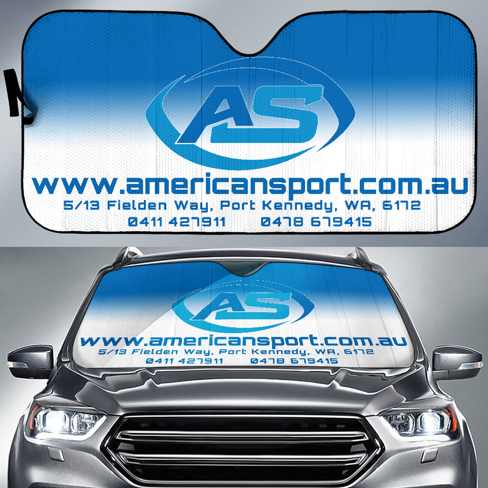 ASA Branded Car Sun Shield