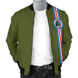 Scooter Inspired Bomber Jacket Style 2