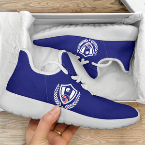 ASA Mesh Sneakers Solid Blue
