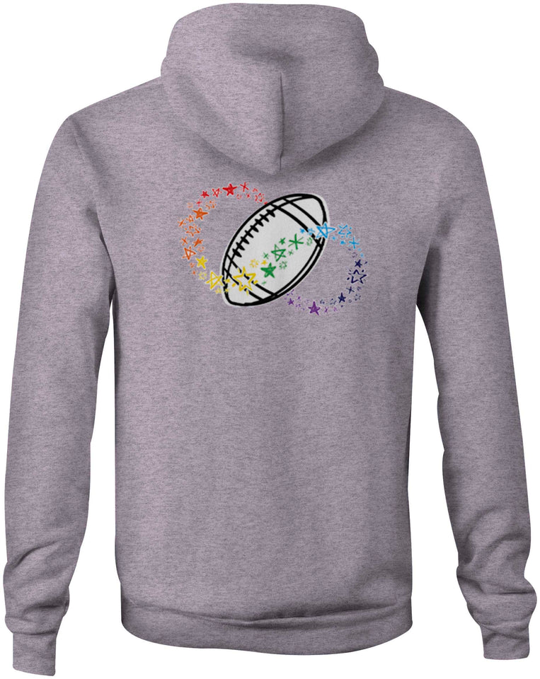 2021 Autism Match Double Sided Hoodie