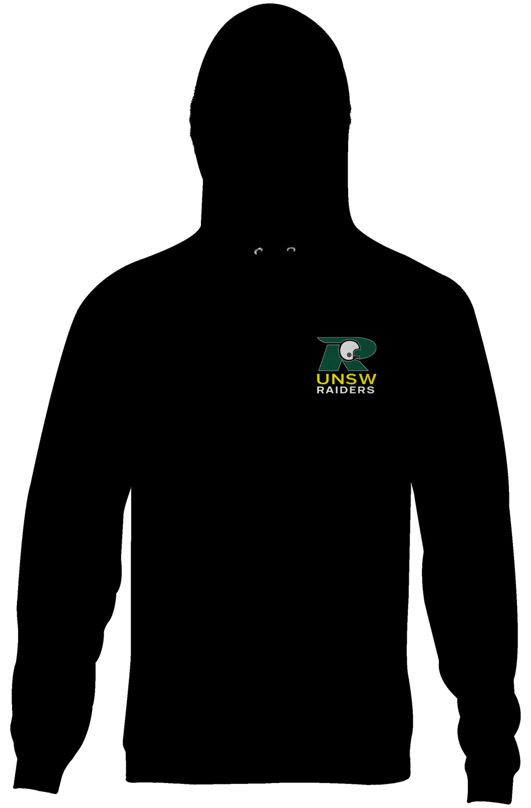UNSW Raiders Double Sided Logo Hoodie